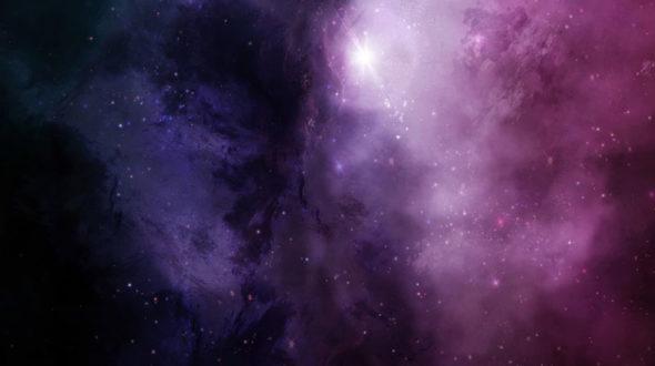 I love purple galaxies
